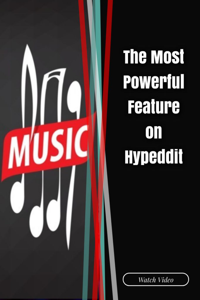 most powerful feature on Hypeddit
