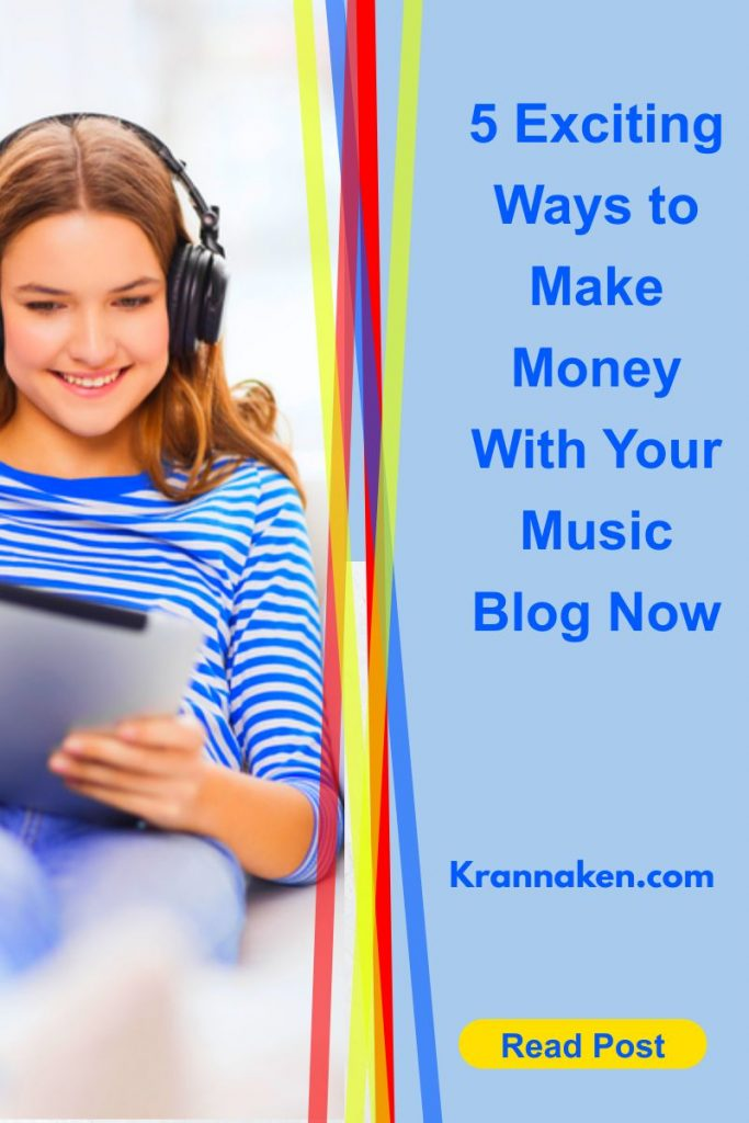 Ways to Make Money With Your Music Blog