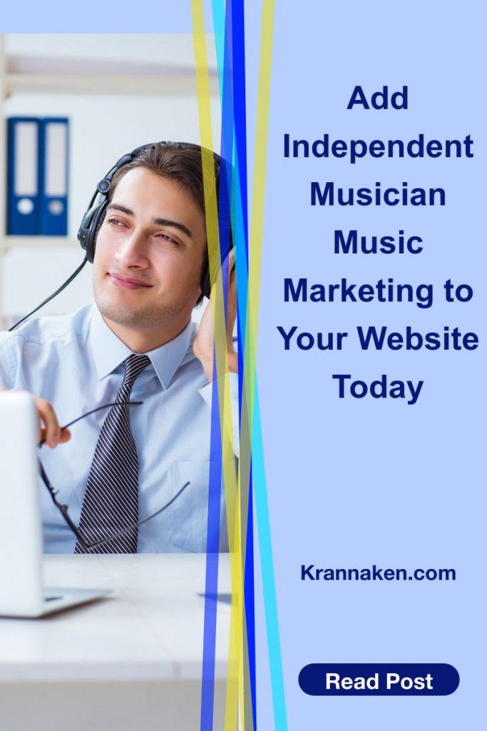 add independent musician music marketing
