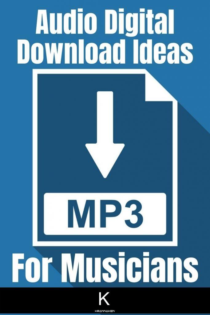 audio digital download ideas