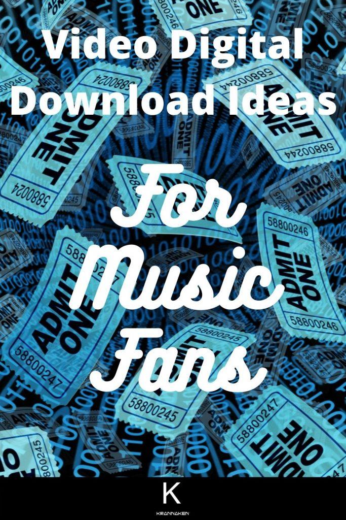 video digital download ideas