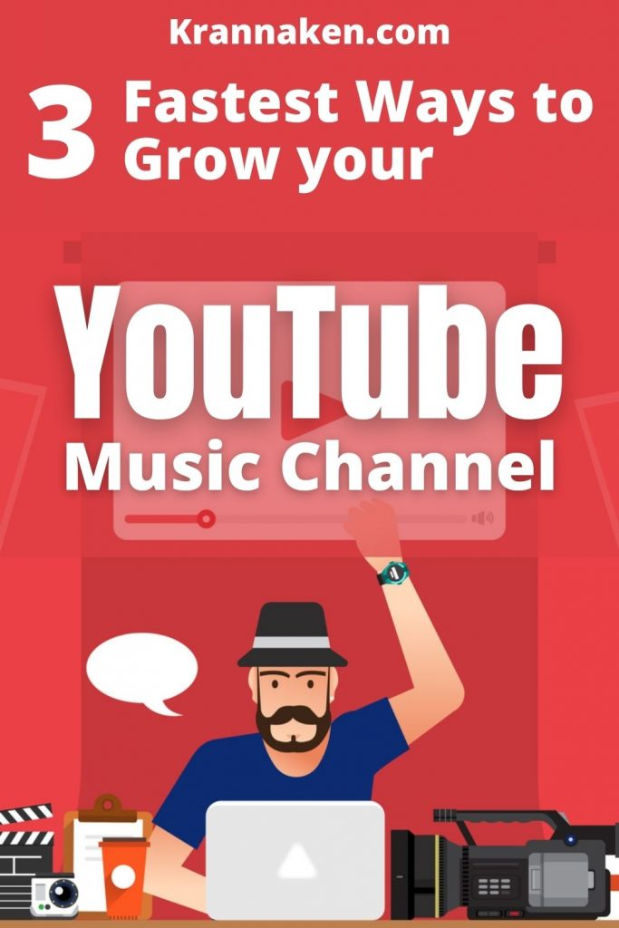 grow your YouTube music channel by optimising your YouTube videos and using the Creative Commons YouTube License