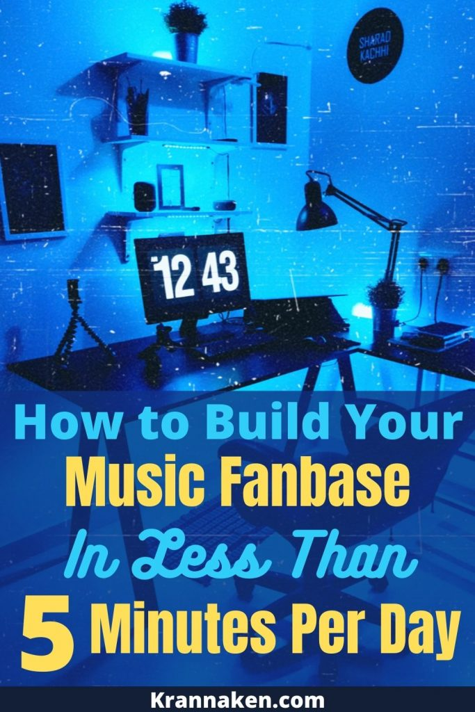 how to gain real music fans, music marketing strategy, time management