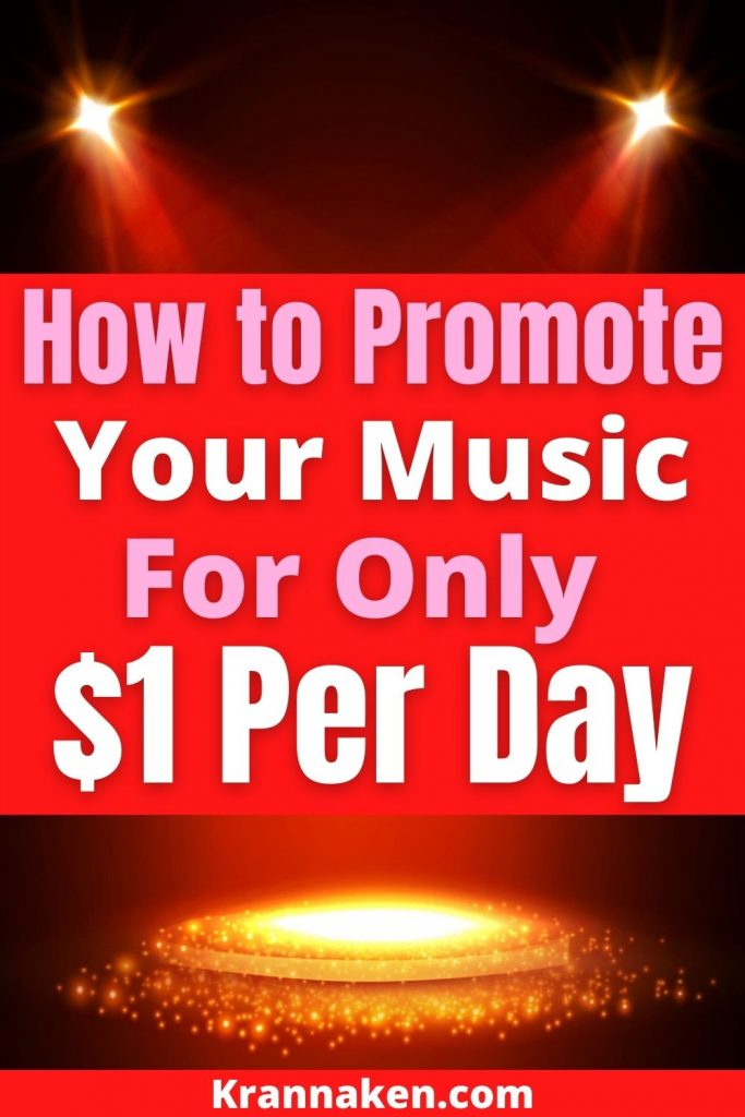 Pinterest pin for video by Damian Keyes says How to Promote Your Music